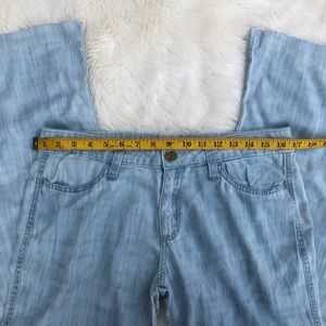 Anthropologie Pants - ANTHROPOLOGIE Cloth & Stone Chambray Tencel Pants